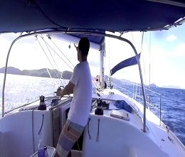 Learn basic keelboat and bareboat sailing in 7 days.
