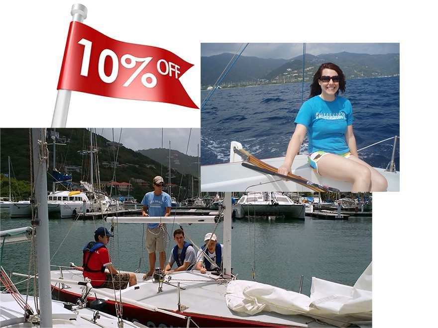 Basic Keelboat 10% Discount