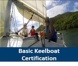 NESC Basic Keelboat Sailing Course Certification