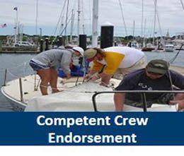 NESC Competent Crew Sailing Course Endorsement