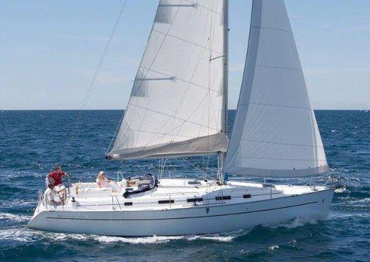 NESC Beneteau 39 Sailing