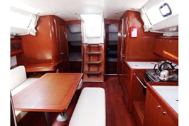 Beneteau 43 Galley