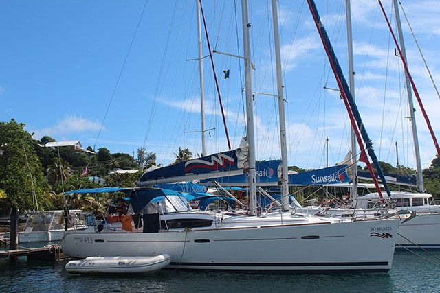 Beneteau 43-Starboard