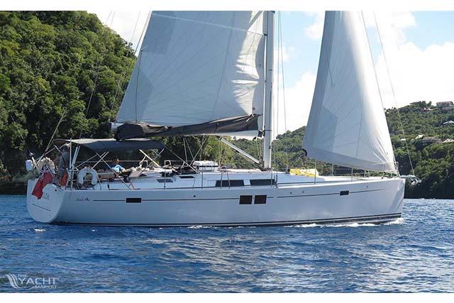 Hanse 505 Sailing